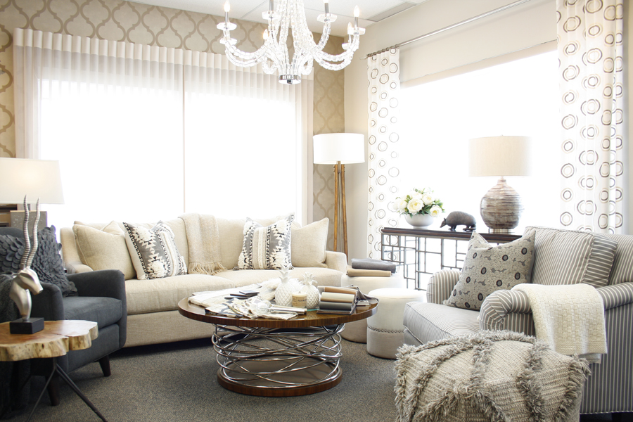 Blending Masculine & Feminine Decorating Styles