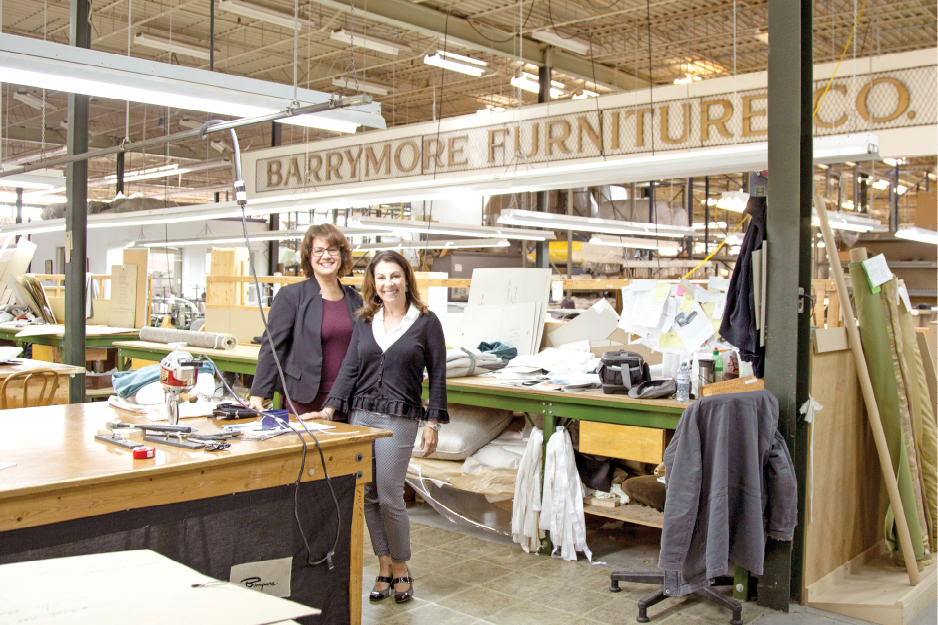 Behind the Scenes with Barrymore Furniture!